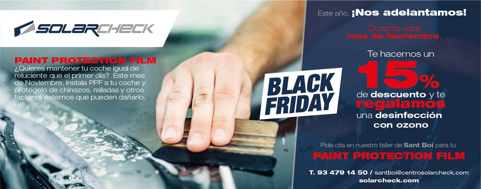 Black Friday Car Wrapping
